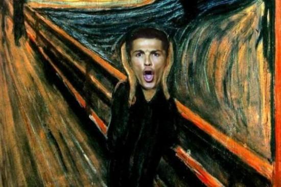 El grito de Ronaldo