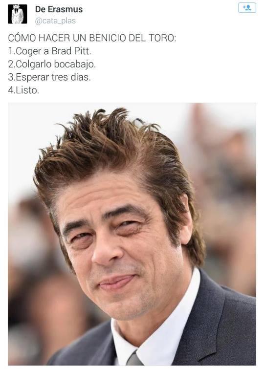 Cómo hacer un Brad Pitt