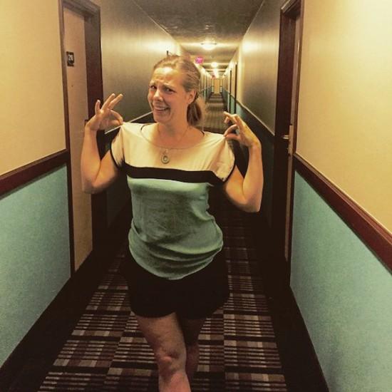 A juego con el hotel