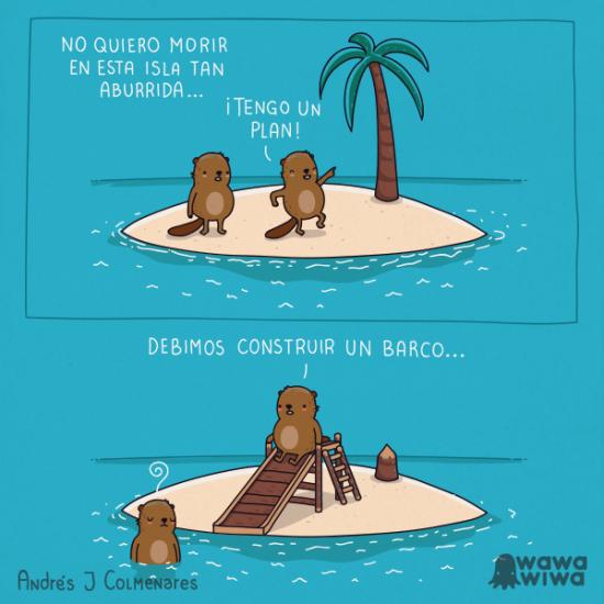 Isla aburrida