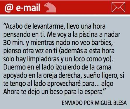 Los mails calientes de Blesa a una empleada de Caja Madrid