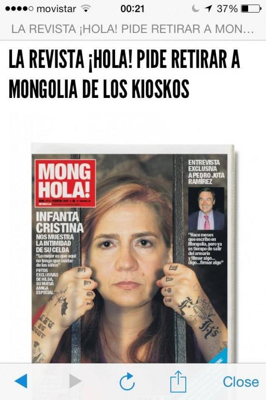 MongHola, ya en sus quioscos