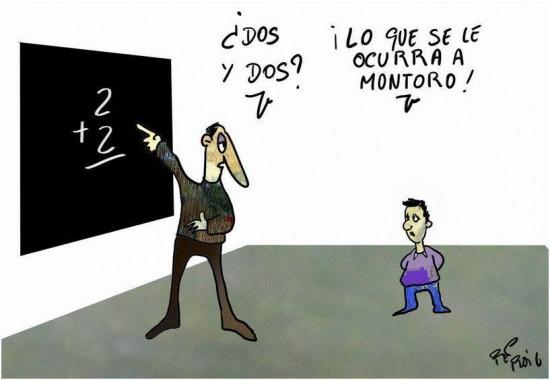Las matemáticas de Montoro