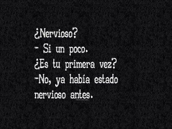 Nervioso