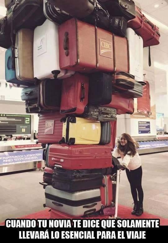 Tu novia y las maletas