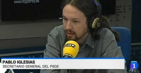 Pablo Iglesias, secretario general del PSOE