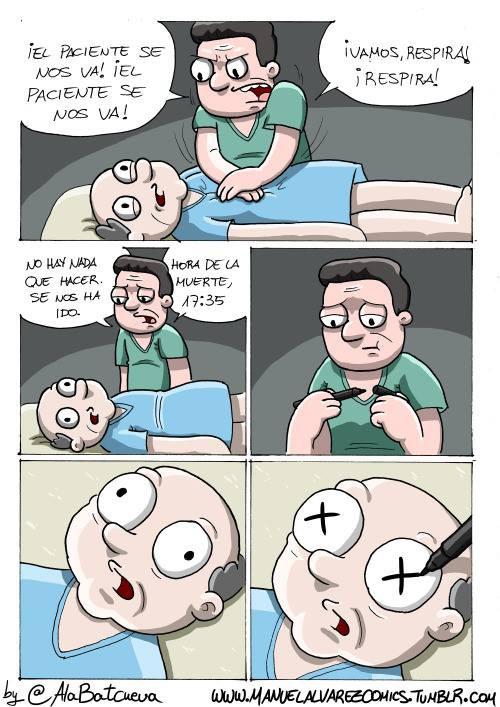 Paciente muerto