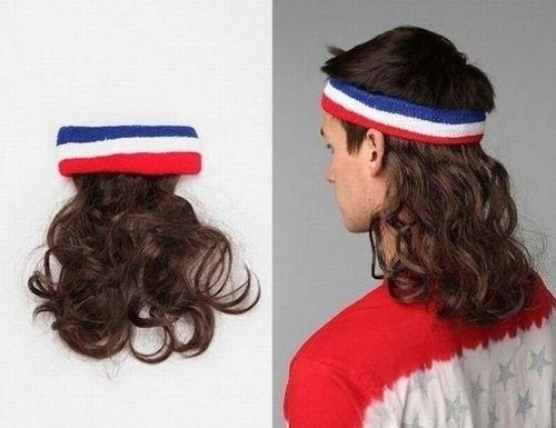 Una peluca muy útil