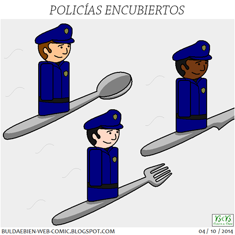 Polis encubiertos