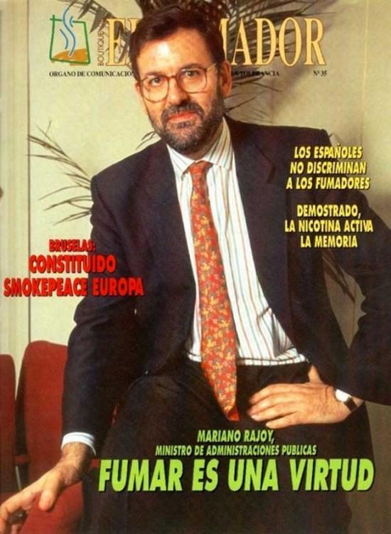 Titulares que daba Rajoy en el 96