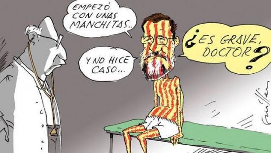 Rajoy está enfermo