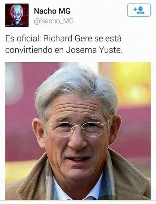 Richard Gere o Josema Yuste