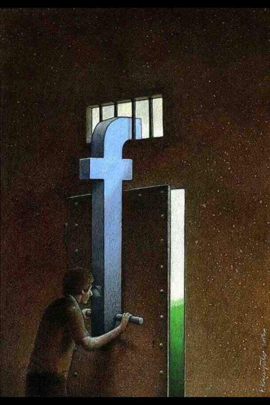 Salir de Facebook, una odisea