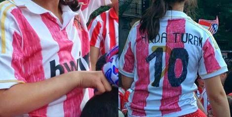 Tuneando la camiseta de tu equipo de fútbol
