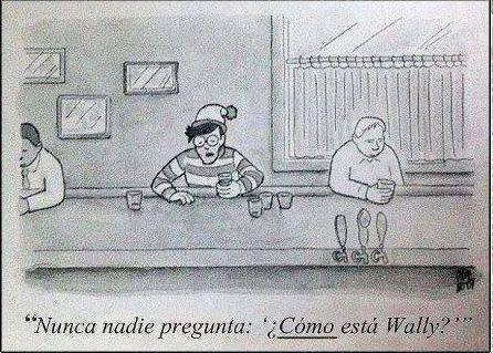 ¿Cómo está Wally?