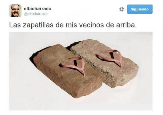 Zapatillas de los vecinos