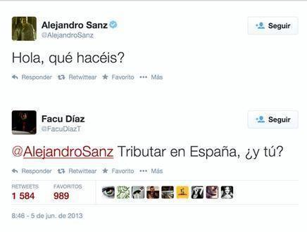 Zas en toda la boca a Alejandro Sanz