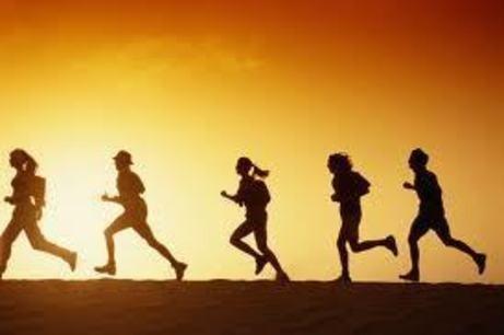 Vamos a correr.Sigueme