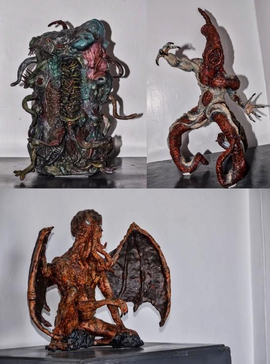 Cthulhu, Nyarlathotep y un dios menor