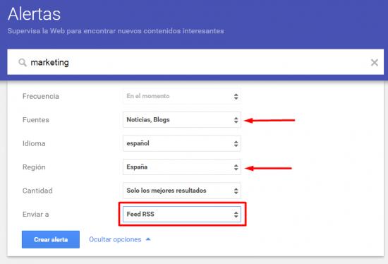 ¿Cómo usar las alertas de Google para publicar en Twitter?
