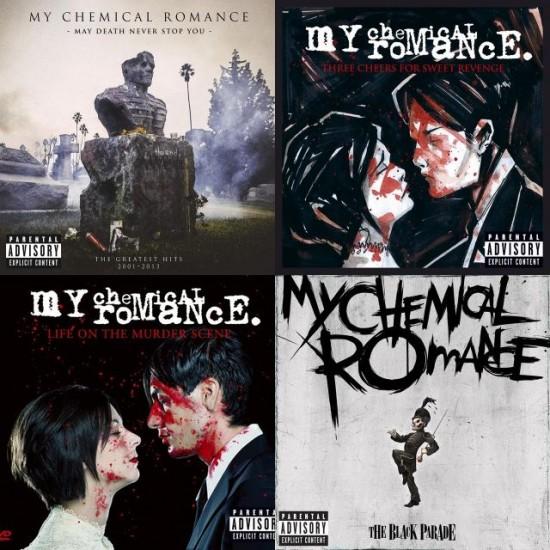 lista de videos de my chemical romance: