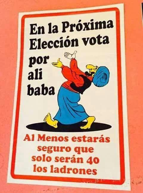 Vota Ali baba