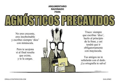 Consejo para agnósticos precavidos