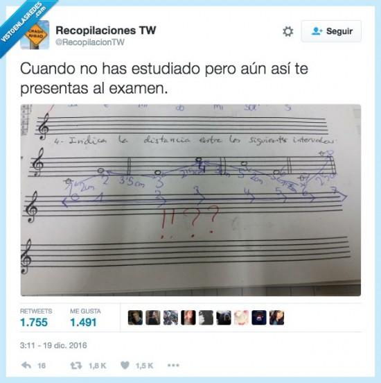 Examen de ¿música?