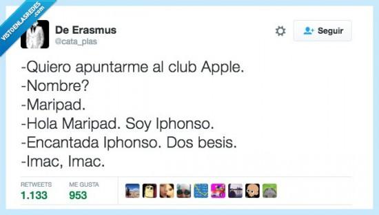 Obsesión con Apple