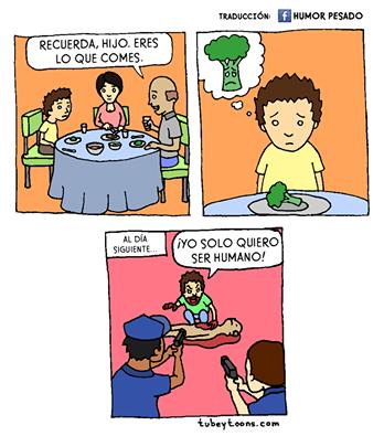 Niños que quieren ser humanos