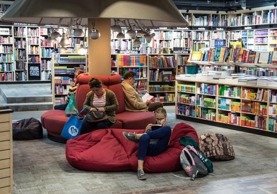 El mundo analógico y las librerías