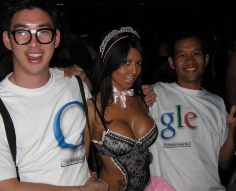 El logo de Google en 3D