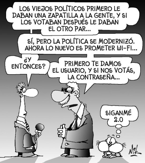 Clientelismo político 2.0