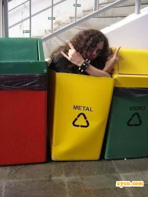 Metal reciclado