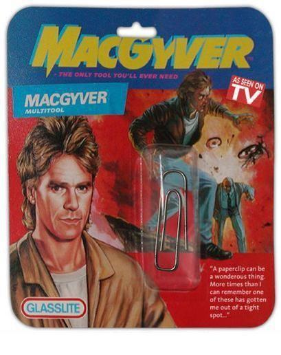 La super herramienta de Mc Gyver ya está a la venta!