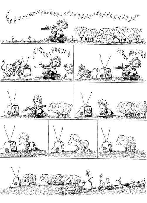 Humor gráfico y chistes de Quino - 1