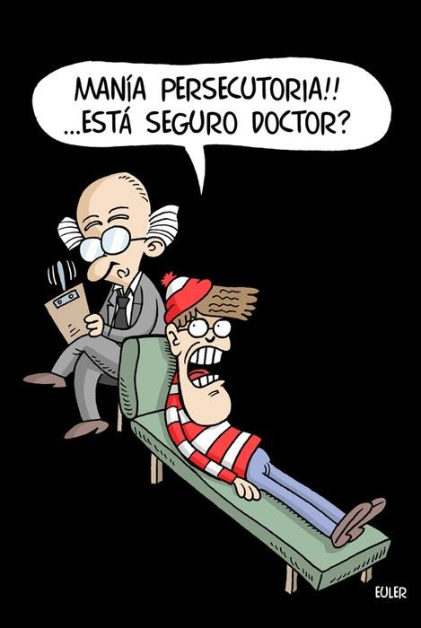 Wally en el psiquiatra