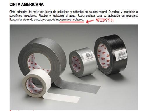 La cinta americana lo amarra todo
