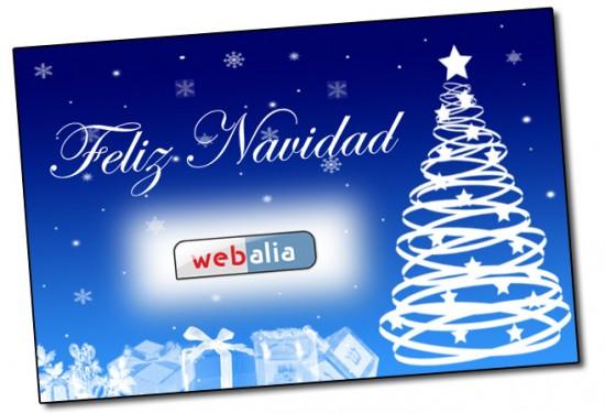 Felicitación de Navidad de Webalia