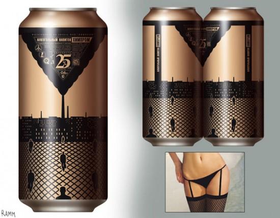 La cerveza en lata es sexy
