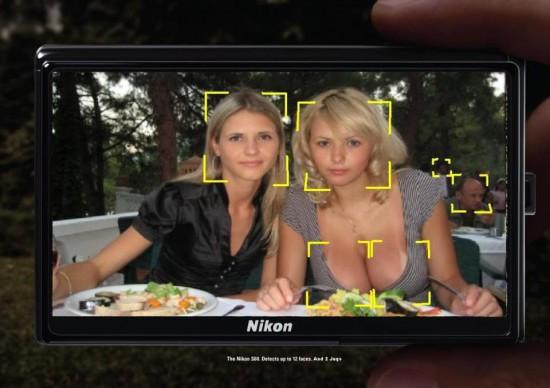 Cámara de fotos que detecta caras