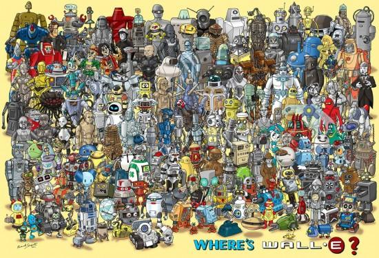 Dónde está Wall-E