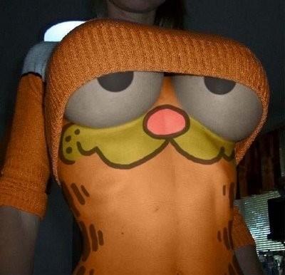 Disfraz original de Garfield