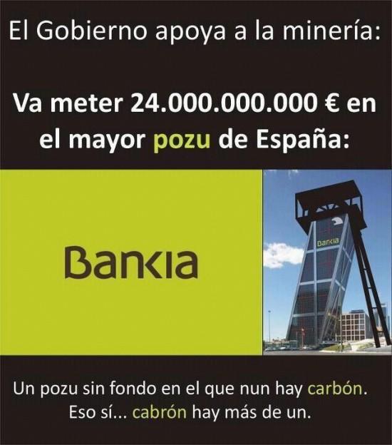 El gobierno apoya a la miner�a