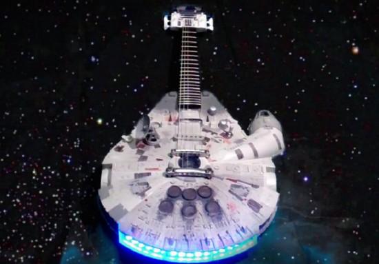 Guitarra Halcón Milenario de Star Wars
