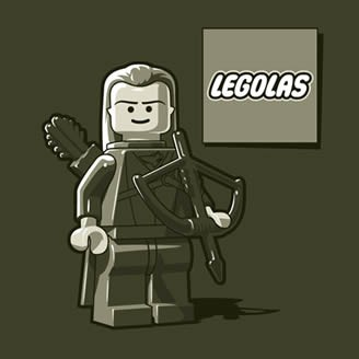 Camiseta de Legolas