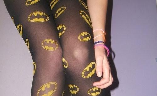 Medias de Batman para chicas frikis