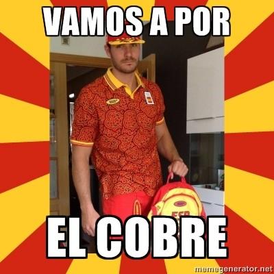 Memes con el chándal de las olimpiadas de España