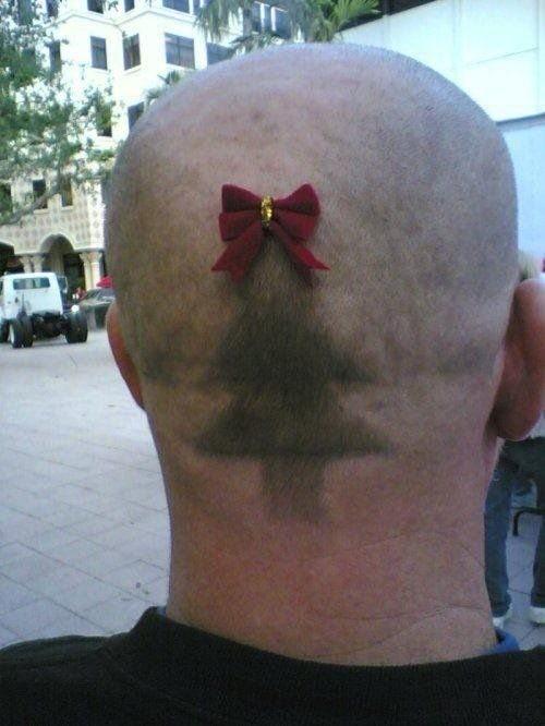 Peinado original para Navidad