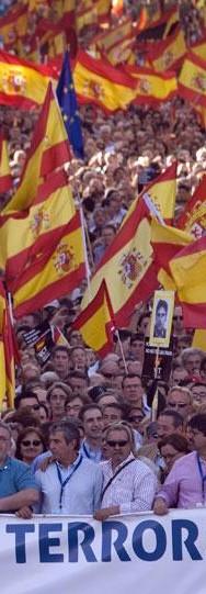 Manifestación del PP estilo Pedro Jota